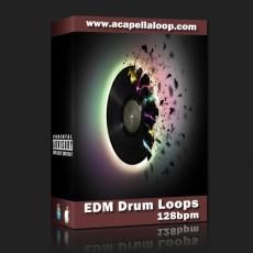 鼓素材/EDM Drum Loops (128bpm)